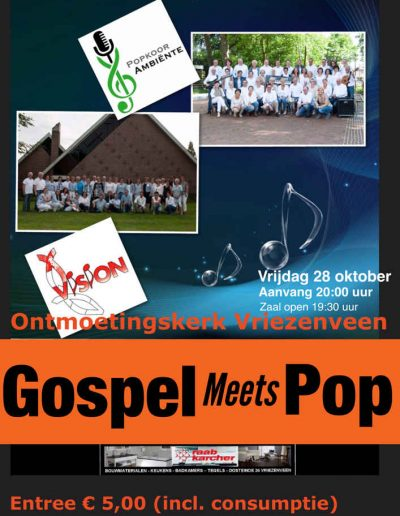 Gospel meets pop