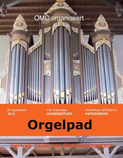 Orgelpad Gramsbergen