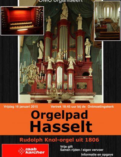 Orgelpad Hasselt 2015
