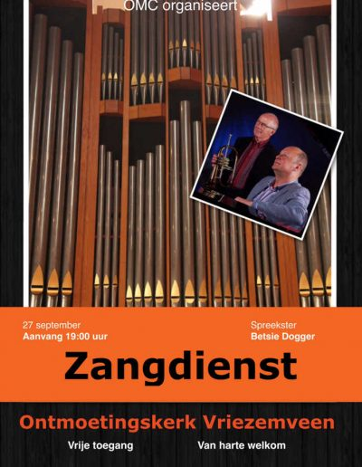 Zangdienst sept 2015