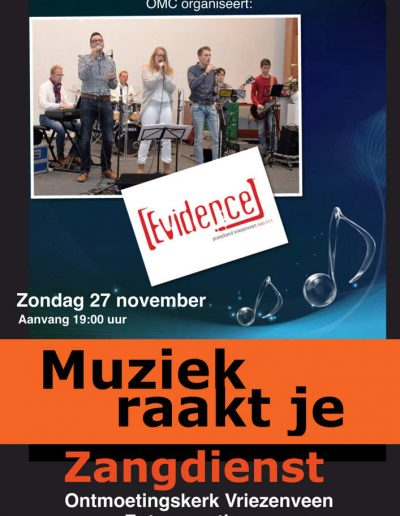 zangdienst 27 nov 2016