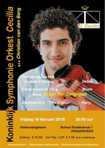 Koninklijk Symphonie Orkest Cecilia met Hrayr Ter-Sargsyan