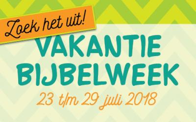 Vakantie Bijbel Week 2018